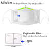 High quality anti virus and dust 3D fashion nose mask with filter