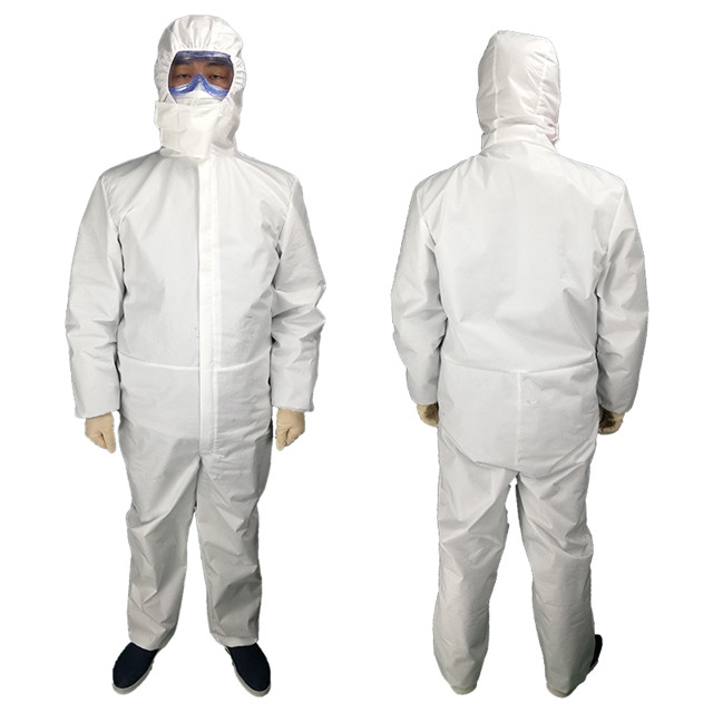 Disposable protective suit virus protective clothing